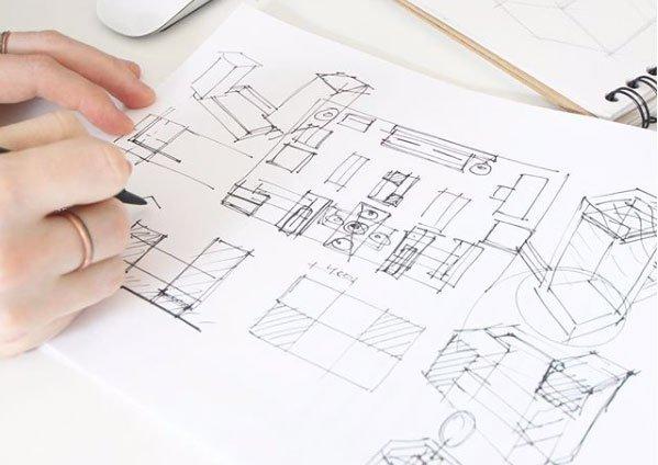 Retail Design Planning Drawings