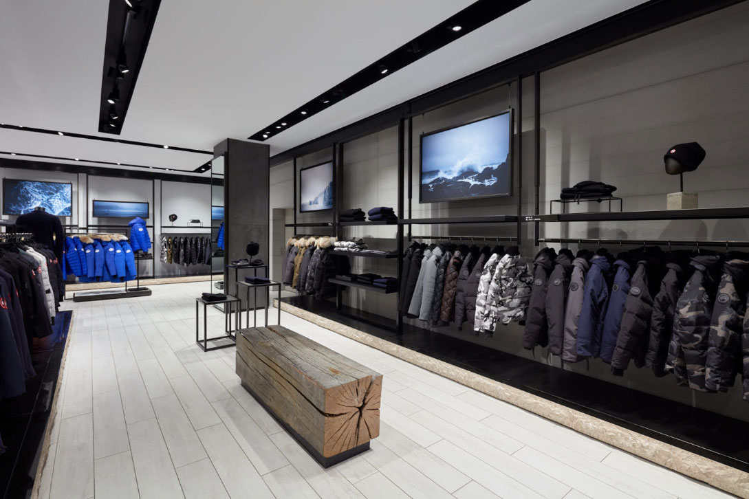 Canada Goose Retail Flagship Store London