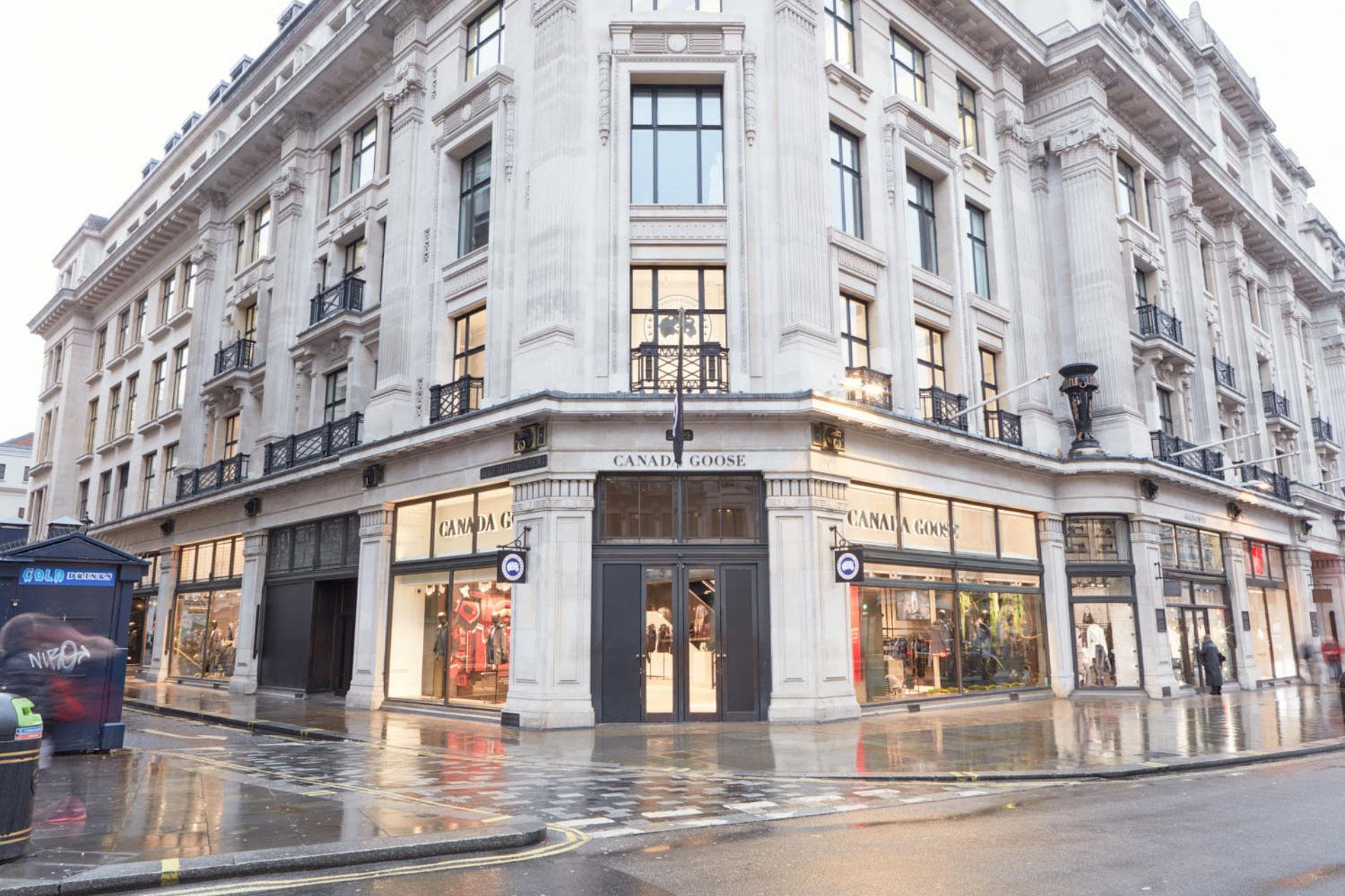 Canada Goose Flagship Store London Exterior