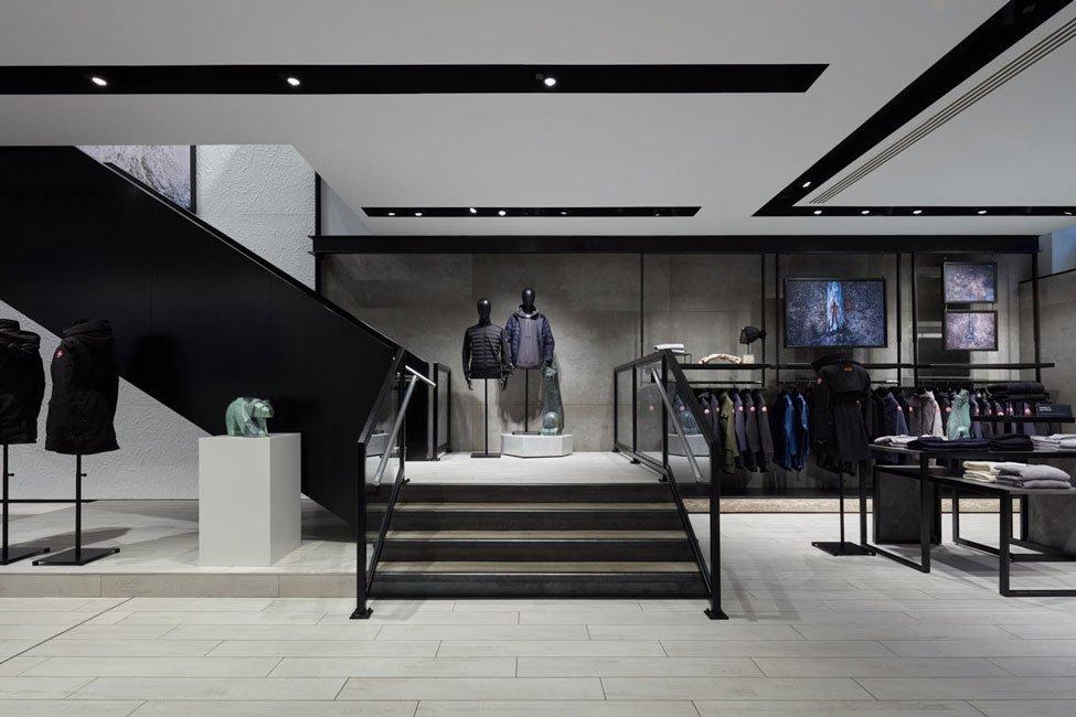 Canada Goose Flagship Store Design London