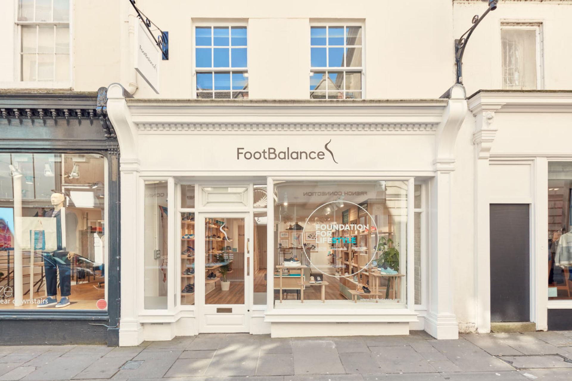 Footbalance Flagship Store, Bath, Exterior