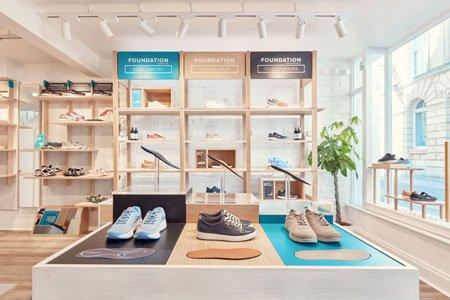 Footbalance Store Retail Design