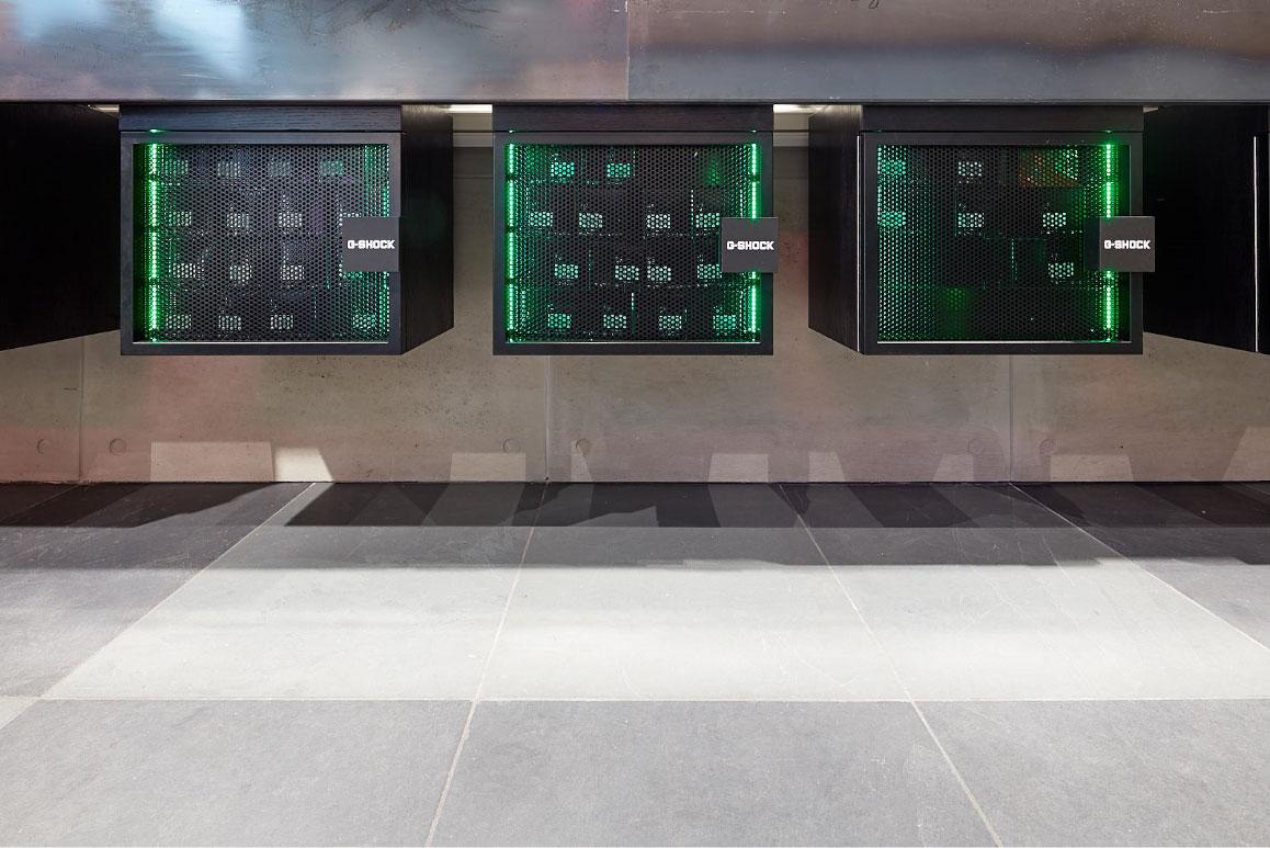 G Shock Retail Display