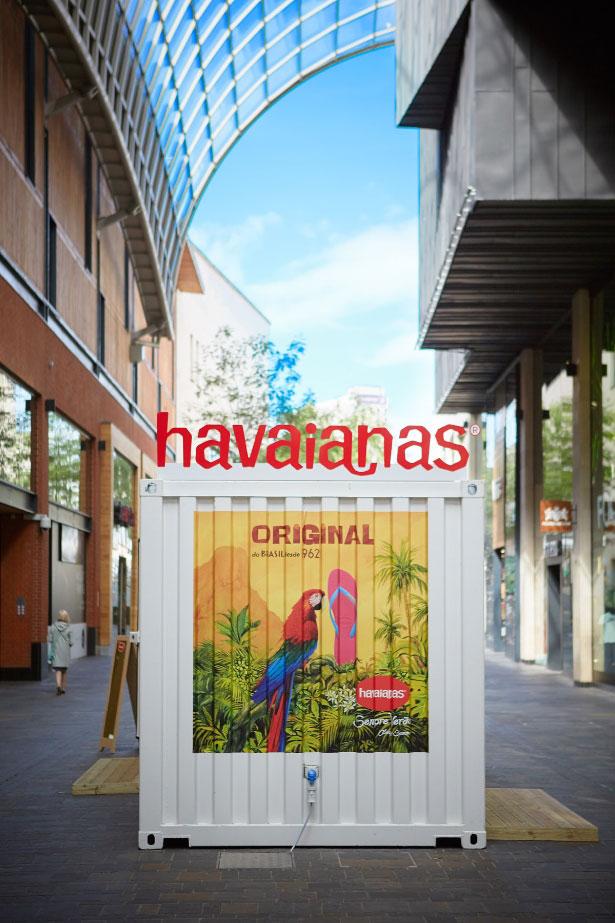 Havaianas Pop up Shop Design Bristol
