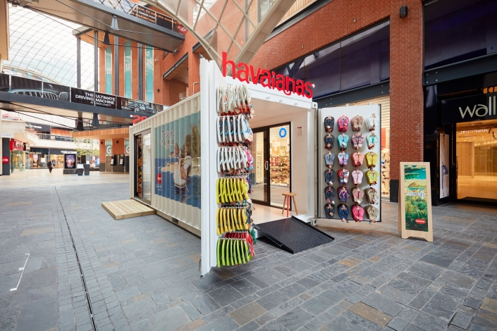 Havaianas Pop Up Container Store