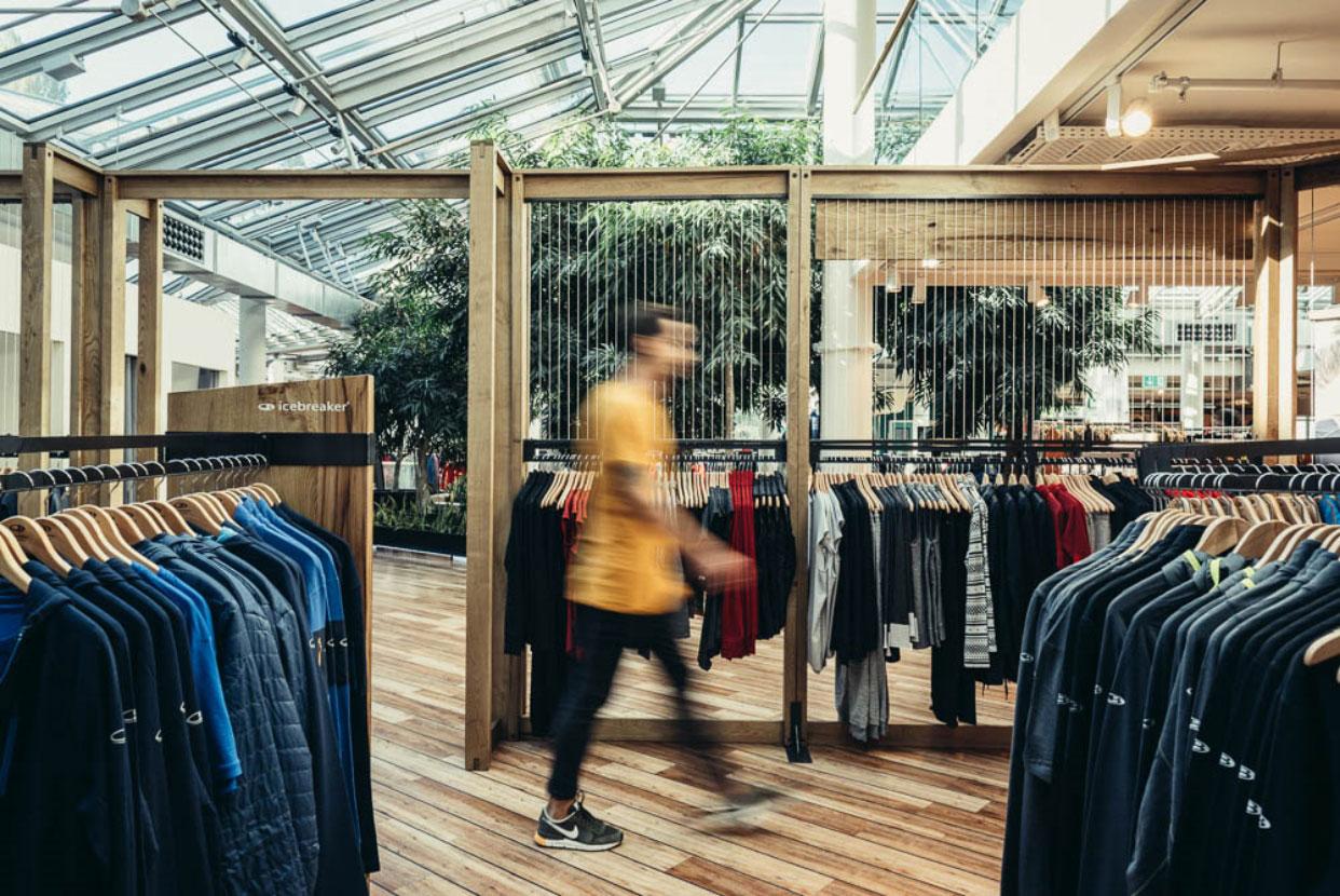 Icebreaker Shop-In-Shop Store Interior Design