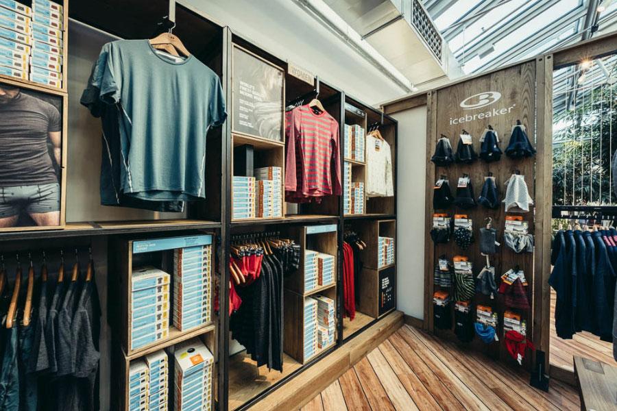 Icebreaker Store Design